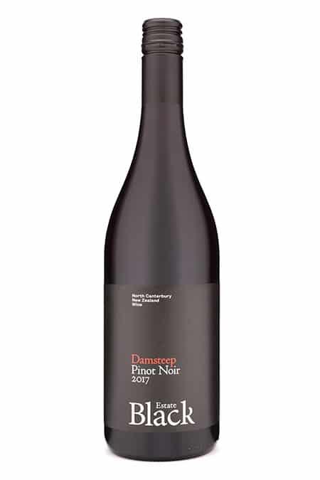 2017 Black Estate Damsteep Pinot Noir, Waipara