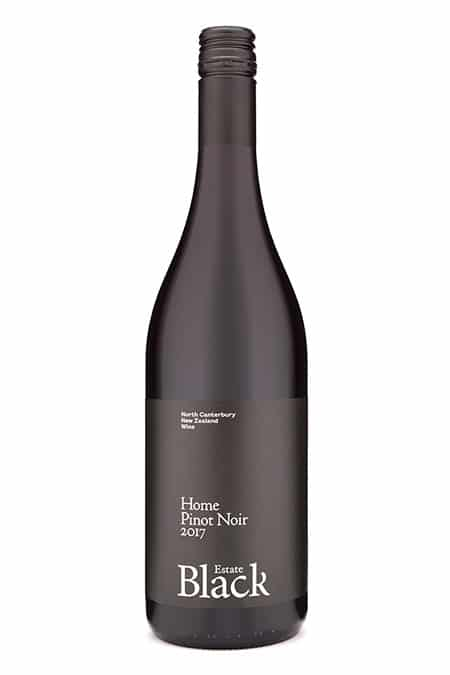 2017 Black Estate Home Pinot Noir, Waipara