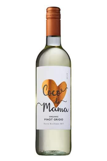 2018 Coco di Mama Organic Pinot Grigio, Sicilia, Italy