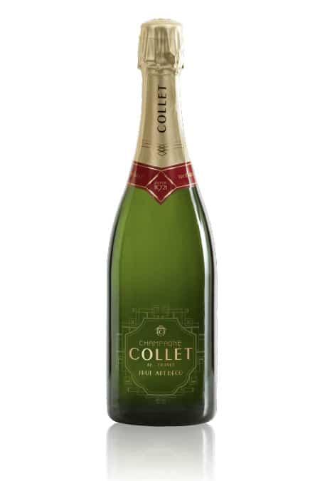 Champagne Collet Brut Art Deco, Ay, France