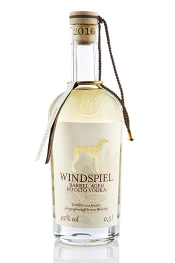 Windspiel Barrel-Aged Potato Vodka (42%), Eifel, Germany 500ml