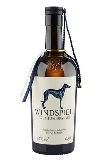 Windspiel Premium Dry Gin (47%), Eifel, Germany 500ml
